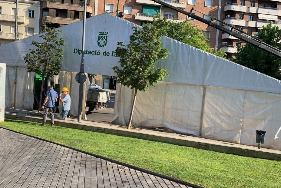 Carpa en Lleida Foto: Europa Press