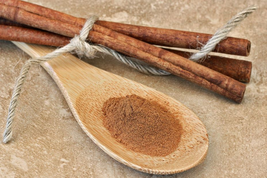 bigstock Wooden Spoon Of Ground Cinnamo 364991095
