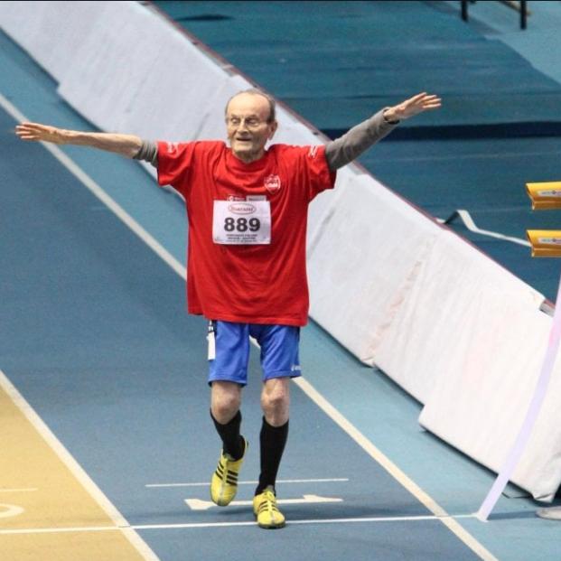 Muere a los 104 años Giuseppe Ottaviani, el atleta veterano más longevo de la historia
