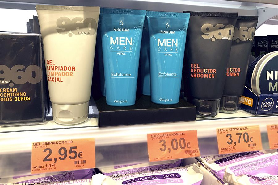 exfoliante men care deliplus