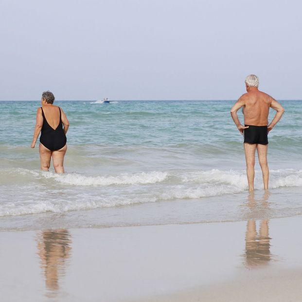 Bañarse en la playa, la mar de saludable