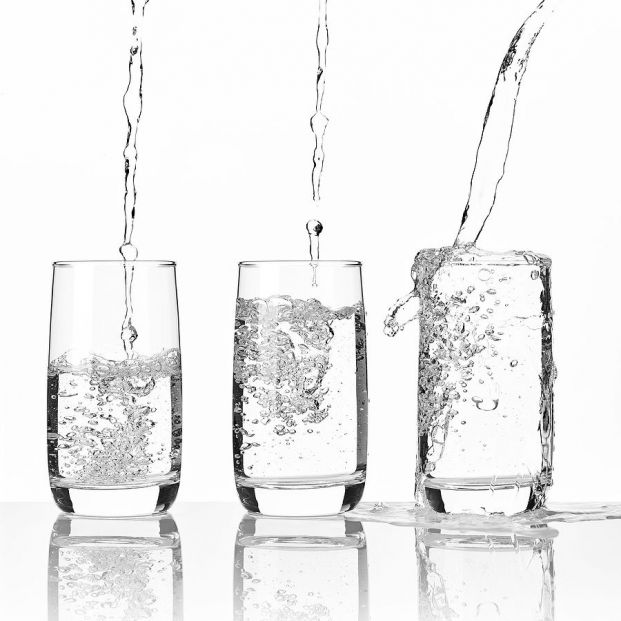 bigstock Pouring Fresh Mineral Water In 374929147
