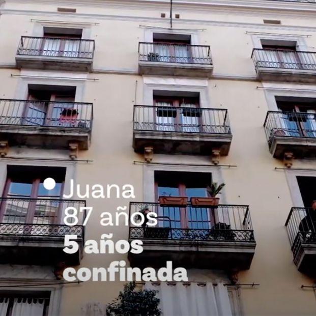 """""""Juana, 87 años y cinco confinada"""": la emotiva campaña que combate la soledad no deseada"""