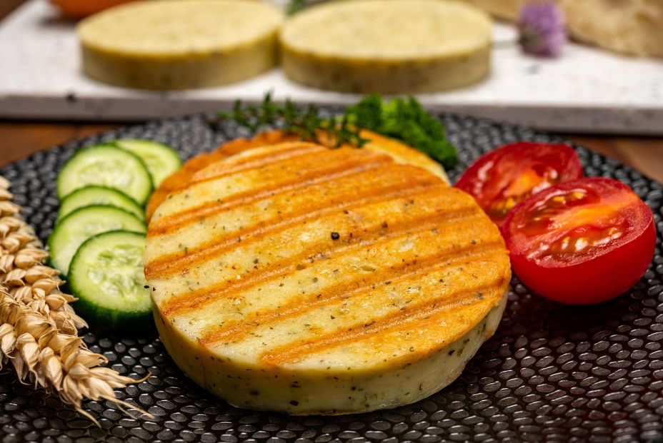 bigstock Yellow Cheese Based Grilled Ve 371202679