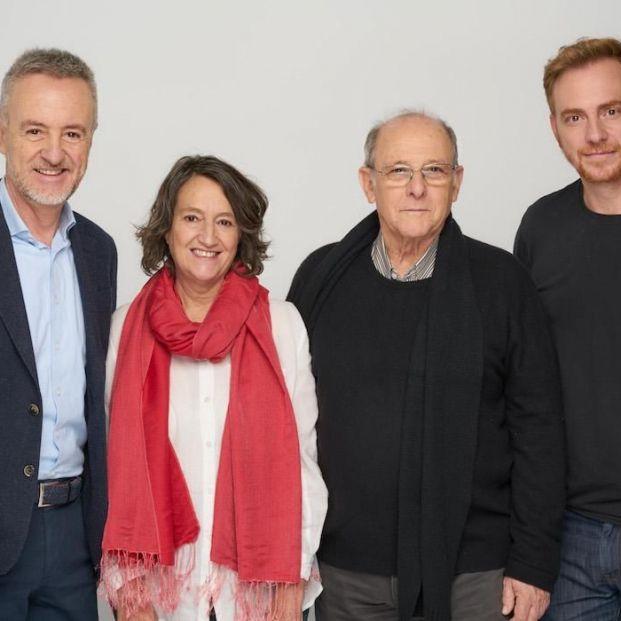 Director y reparto de 'Copenhague', próximo estreno en el Teatro Central de Sevilla (Europa Press)