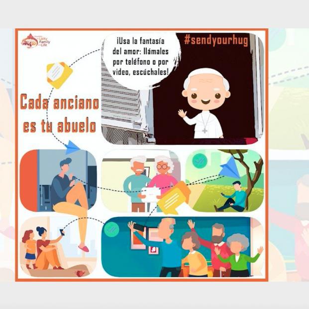 El Vaticano lanza una campaña virtual contra la soledad de los mayores
