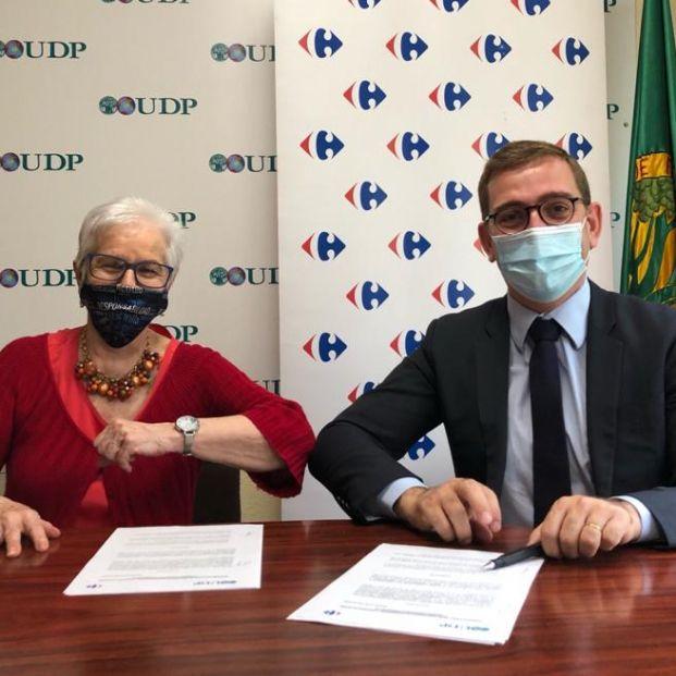 UDP y Carrefour, comprometidas con la mejora de calidad de vida las personas mayores