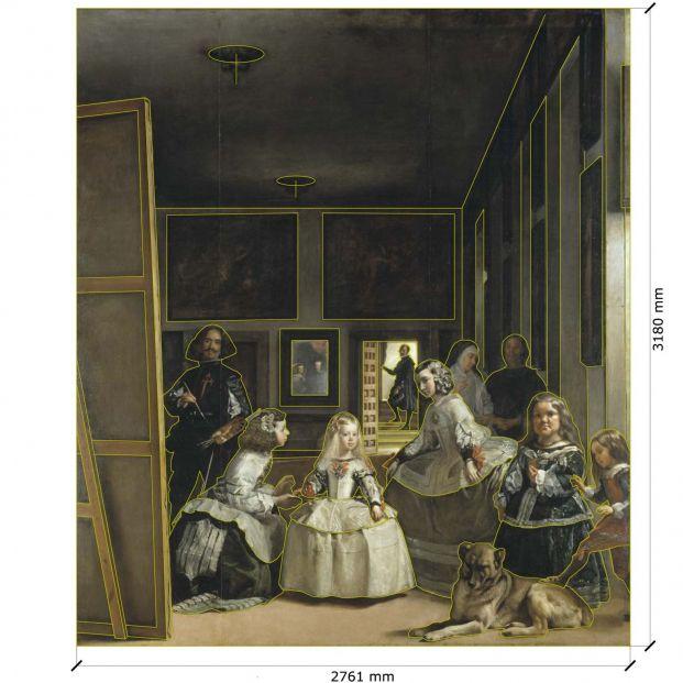 Velázquez pudo utilizar una cámara oscura para pintar 'Las Meninas'