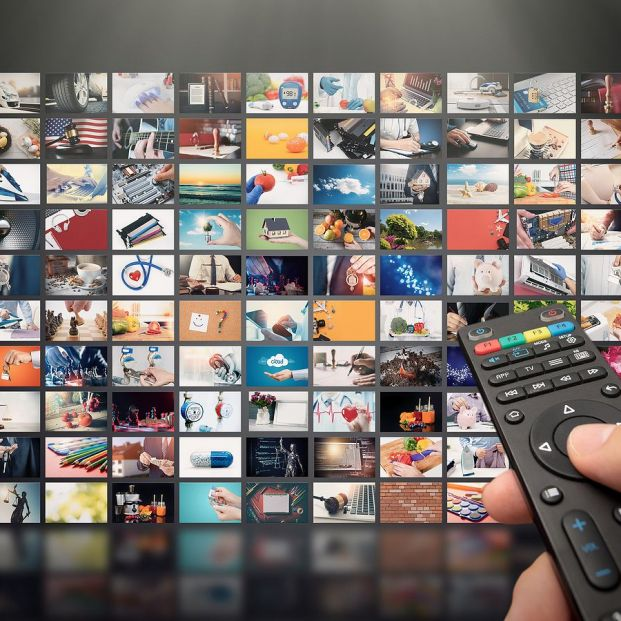 bigstock Television Streaming Video Me 269870230