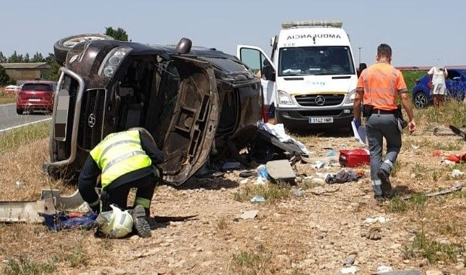 Accidente de tráfico. Foto: EuropaPress