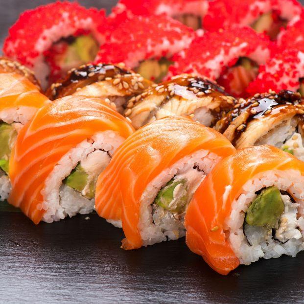 Estos son los alimentos que parecen una cosa y son otra porque engordan más de lo que piensas. Sushi . Foto: Bigstock