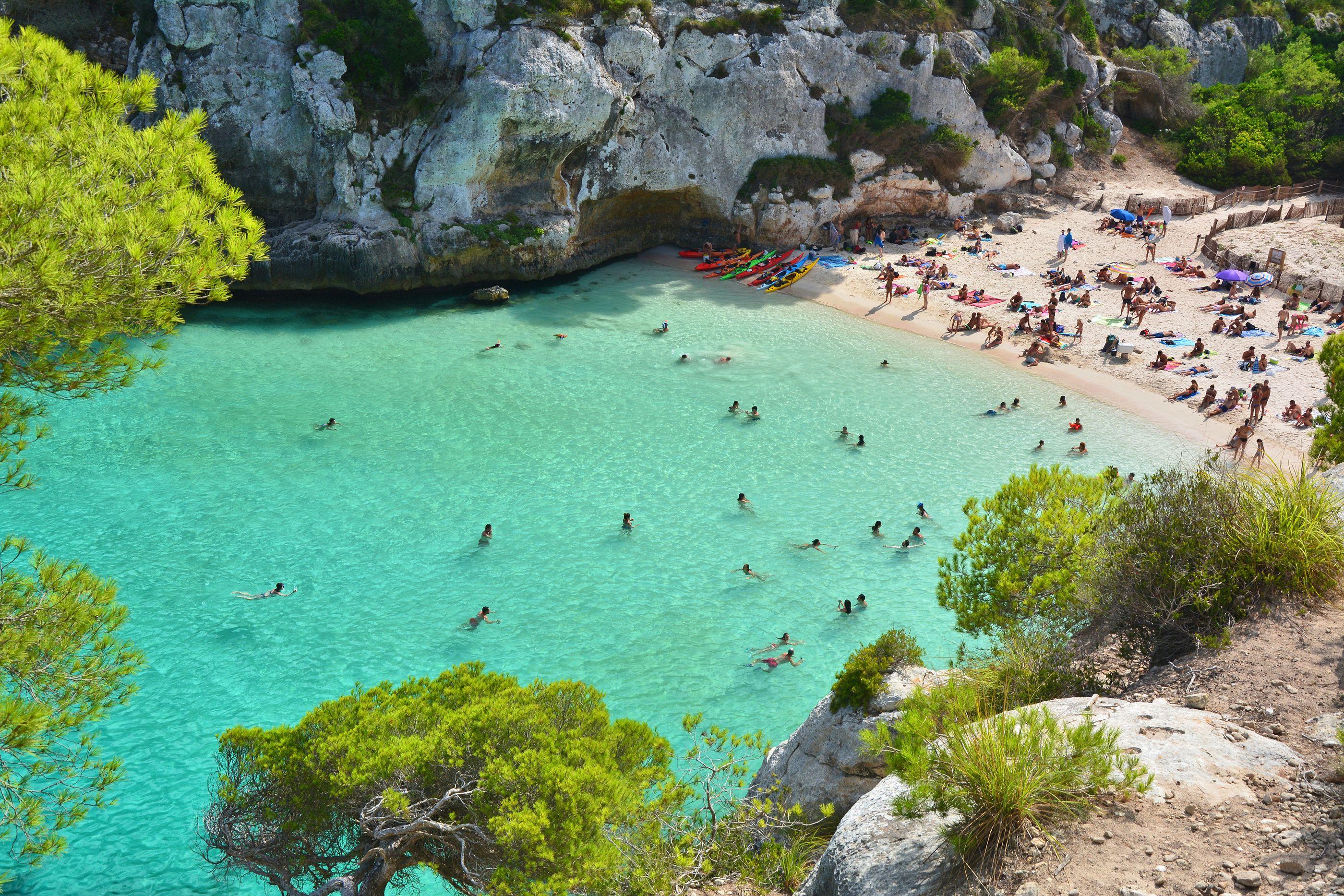Las Mejores Calas De Menorca