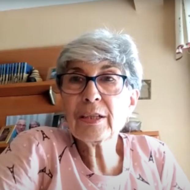 Pilar, de 71 años, una 'influencer' contra el párkinson