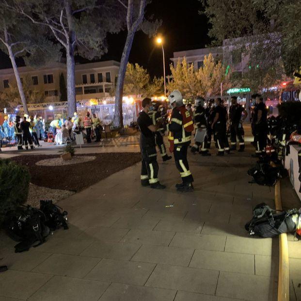 Evacuados 36 mayores de una residencia de Madrid por un incendio