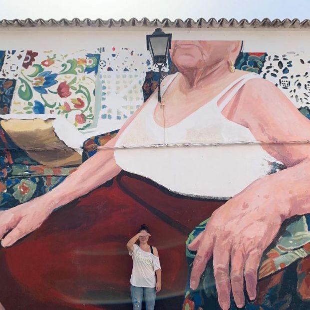 Virginia Bersabé, la artista que convierte a los mayores en arte