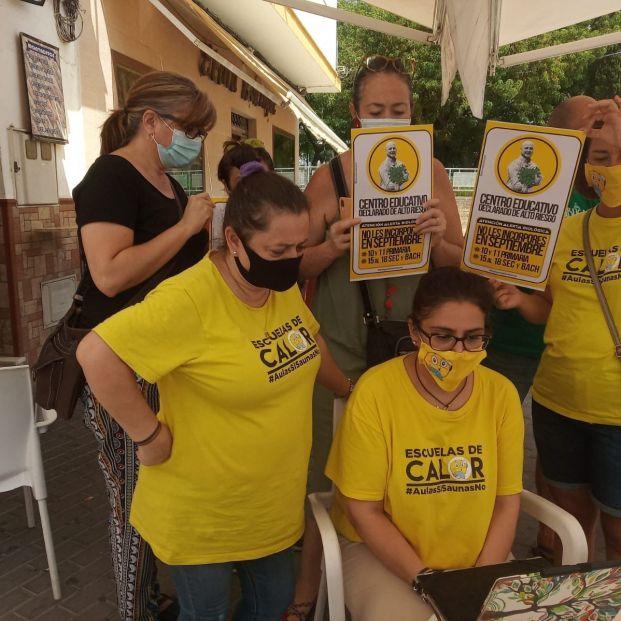 Rebelión en Andalucía: las AMPA amenazan con no llevar a sus hijos al colegio por falta de garantías