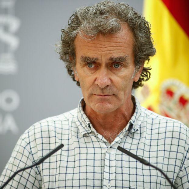 """Fernando Simón defiende que España está en una """"subida suave"""" de casos de coronavirus"""