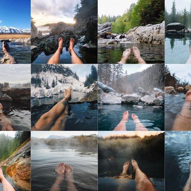 Demuestran que hacemos todos las mismas fotos cuando vamos de viaje