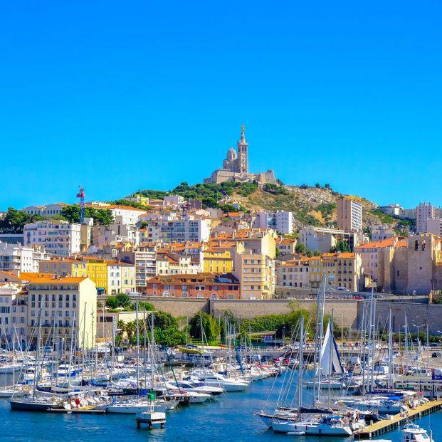 El puerto de la ciudad de Marsella