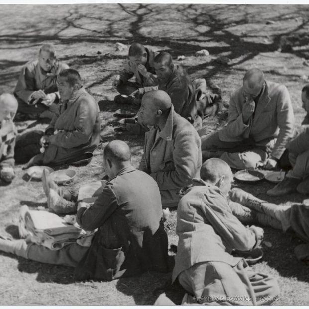 Por los casi 300 campos de concentración franquistas pasaron de 700.000 a un millón de personas