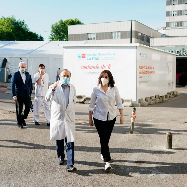 El Hospital de la Paz coordinará a nivel nacional un proyecto europeo contra el COVID-19
