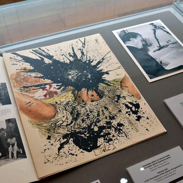 EuropaPress 3286195 museo hermitage san petersburgo expone libros ilustrados salvador dali
