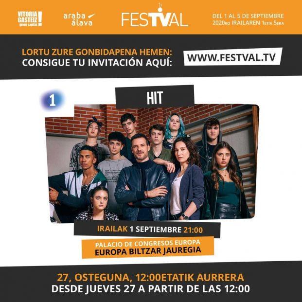El Festival de Televisión de Vitoria abre este jueves en su web el reparto de invitaciones