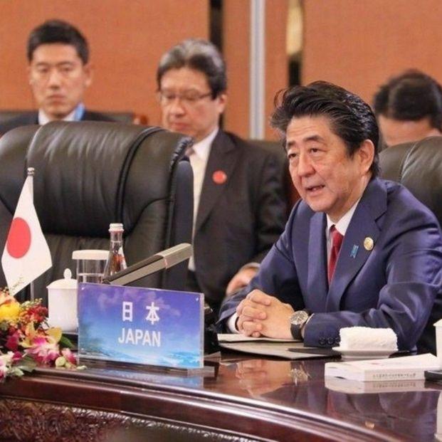 primer ministro japon shinzo abe