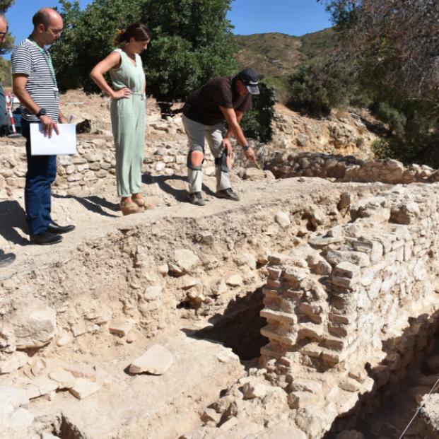 Descubren otro yacimiento nazarí en el municipio malagueño de Alhaurín de la Torre