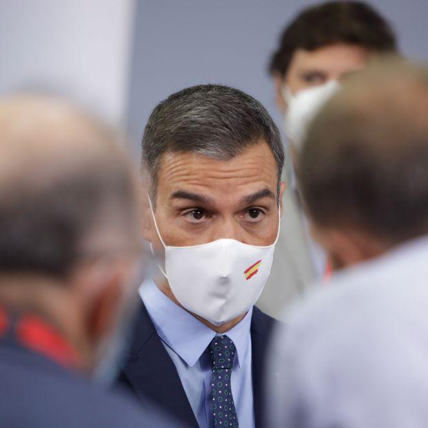 """Pedro Sánchez: """"Nos preocupa la evolución de la pandemia en Madrid"""""""