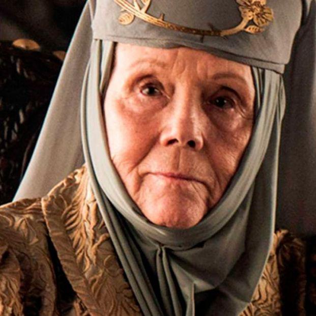 Muere la actriz Diana Rigg, Olenna Tyrell en 'Juego de Tronos'