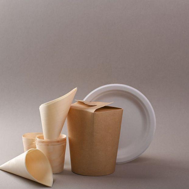 Vajilla comestible, lo último en reciclaje