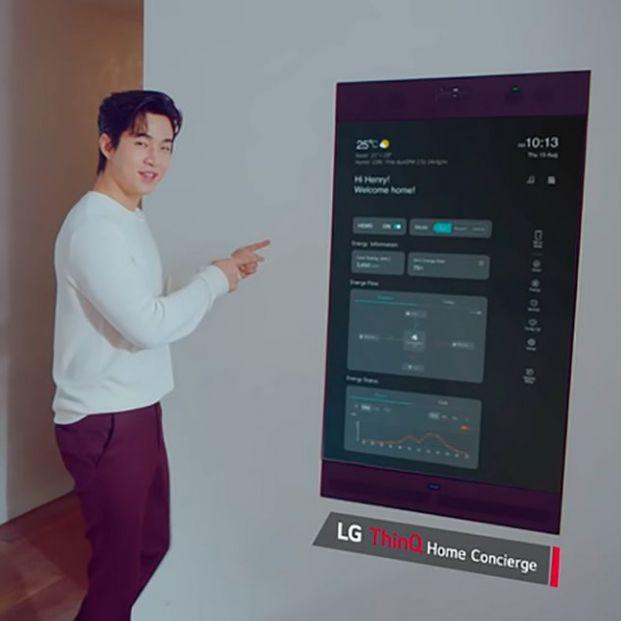 LG lanza un espejo desde el que poder controlar toda la casa