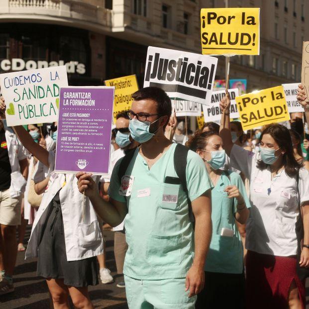 Los sindicatos médicos arrancan este martes su calendario de movilizaciones