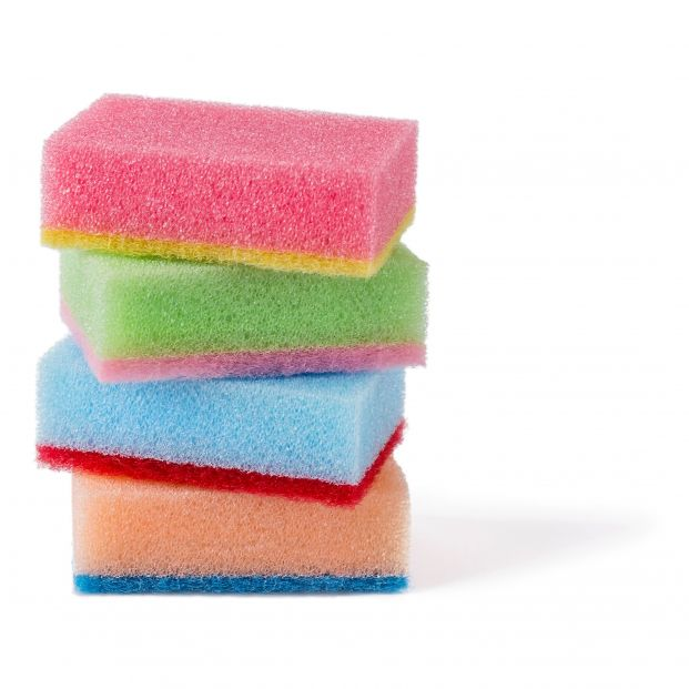Cómo limpiar esponjas y estropajos