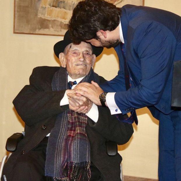 Muere el Tío Juan Rita a los 108 años