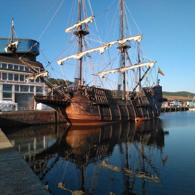 El Galeón Andalucía, un museo flotante de la historia marítima española