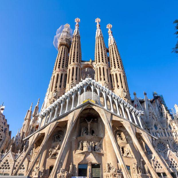 Estos son los monumentos más visitados de España: Sagrada Familia Foto: Bigstock