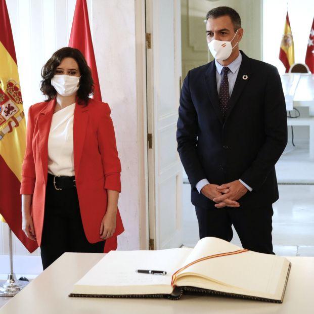 Los puntos clave del pacto entre Sánchez y Ayuso para frenar los contagios de coronavirus en Madrid