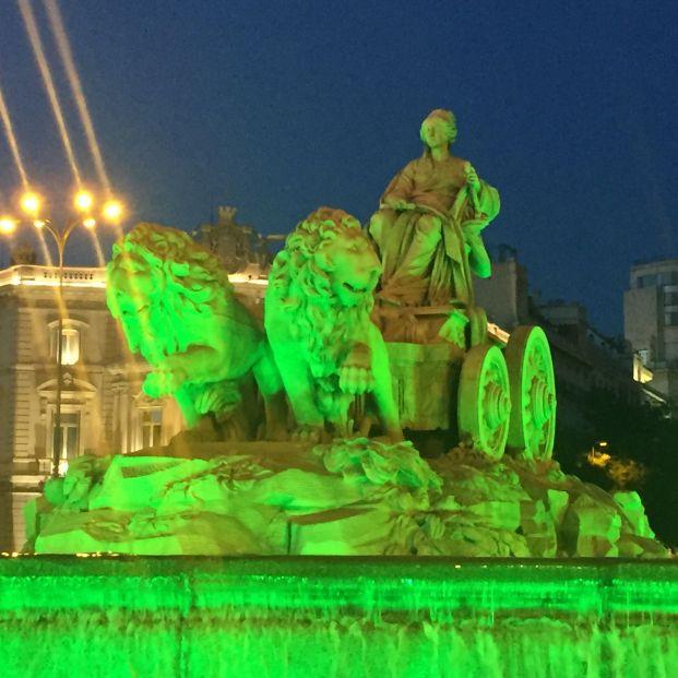 Edificios y monumentos por toda España se iluminan de verde por la artritis