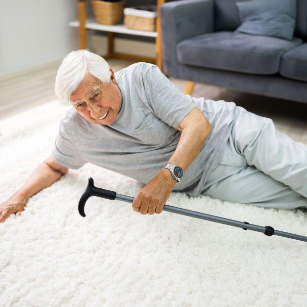 Cómo evitar caídas con las alfombras