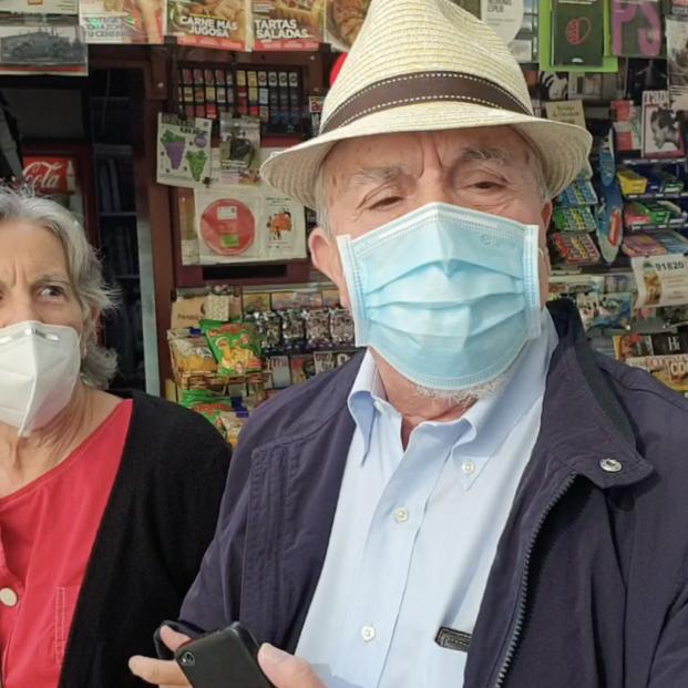"""Los mayores: """"Hay miedo al coronavirus, pero hay que reactivar la vida"""""""