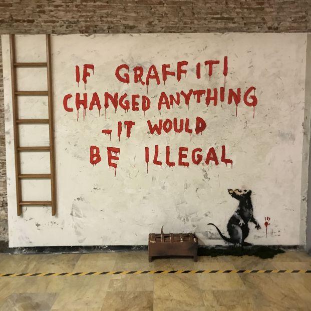 Una exposición de Banksy con más de 30 obras, protagonista del Círculo de Bellas Artes