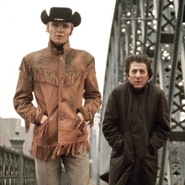 Voight y Hoffman en 'Cowboy de Medianoche' (1969) (United Artists)