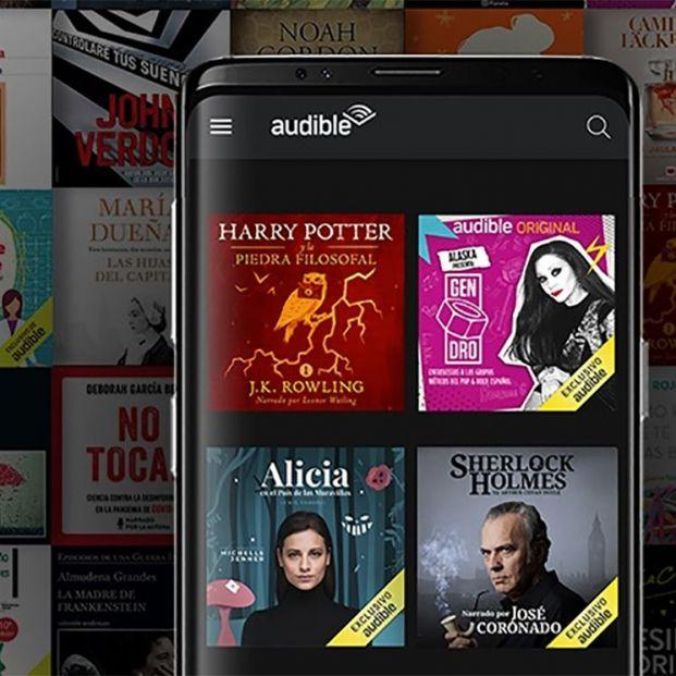 Audible de Amazon desembarca en España con un catálogo de más de 90.000 audiolibros y podcast