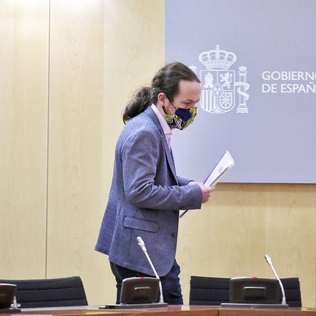 Pablo Iglesias presenta el Plan de Choque en Dependencia: estas son sus principales medidas