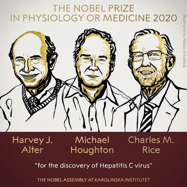 Premio Nobel de Medicina para los descubridores del virus de la hepatitis C