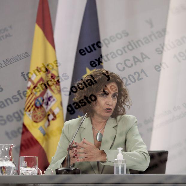 Ministra portavoz María Jesús Montero