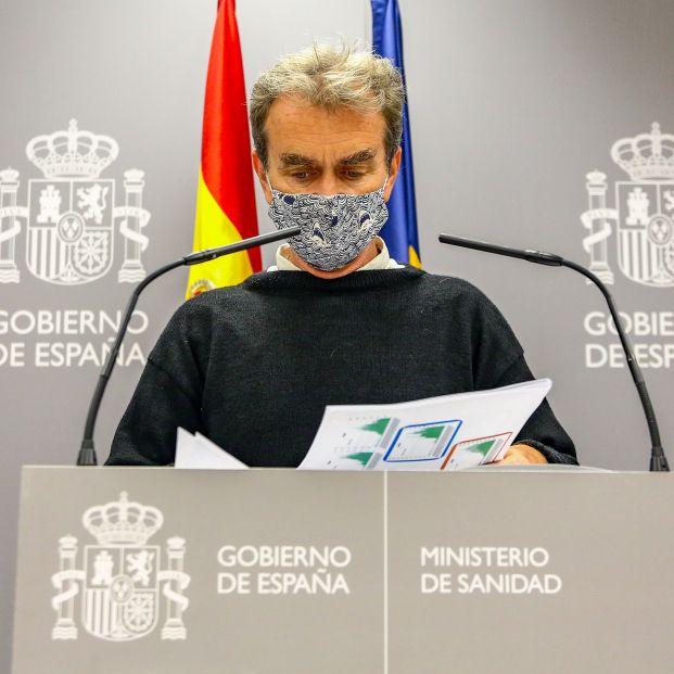 """Fernando Simón: """"La letalidad del coronavirus en mayores de 80 años ha disminuido del 22 al 8%"""""""