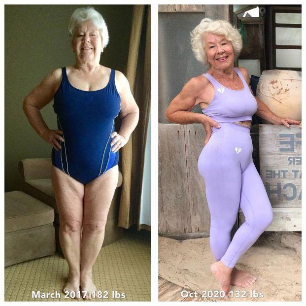 Joan MacDonald, gurú del fitness a los 73 años